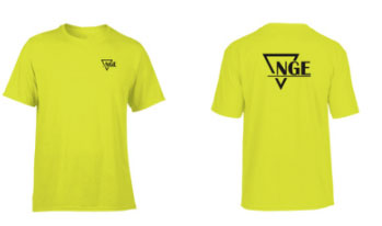 NGE, NGE Shirt, Employee apparel, client appreciation, promotional products, custom shirts, logo shirts, business shirts, t shirts, t-shirt, tshirt printing