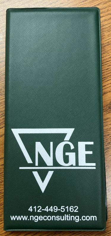 NGE, Tallybook, Custom tally book, Branded tally book, oil and gas, custom tally, notebook