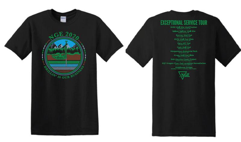 NGE, NGE Shirt, Client appreciation, Retro tshirts, Logo shirts, custom shirts, promotional products, custom apparel, business apparel, merchandise